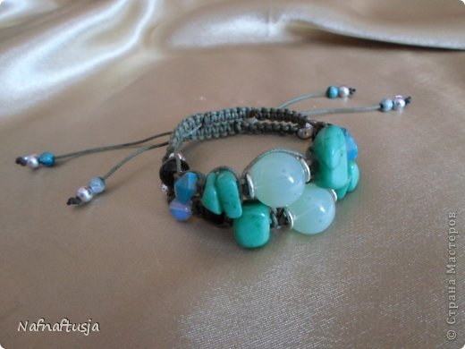 Добрый вечер рукодельницы! Представляю вашему вниманию работы моей мамы, браслеты Шамбала!!! Вот такую красоту она плетет!!! фото 2