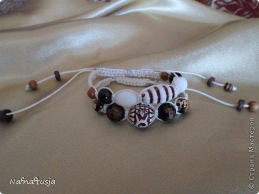 Добрый вечер рукодельницы! Представляю вашему вниманию работы моей мамы, браслеты Шамбала!!! Вот такую красоту она плетет!!! фото 5