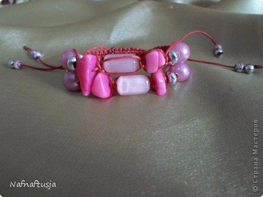 Добрый вечер рукодельницы! Представляю вашему вниманию работы моей мамы, браслеты Шамбала!!! Вот такую красоту она плетет!!! фото 6