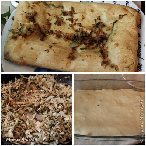Ленивый пирог с капустой фото 2