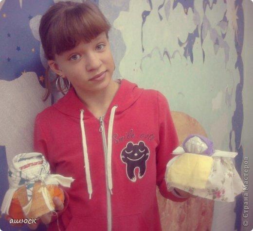 Вот таких кукол смастерили сегодня мои девочки! =) фото 8