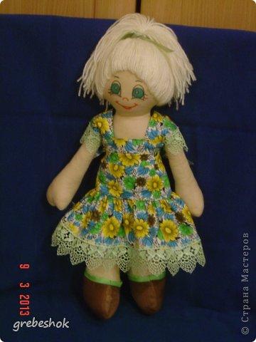 Приветствую Вас, рукодельники и рукодельницы! Давно собиралась попробовать сшить кукол-примитивов. Вот что получилось. фото 6