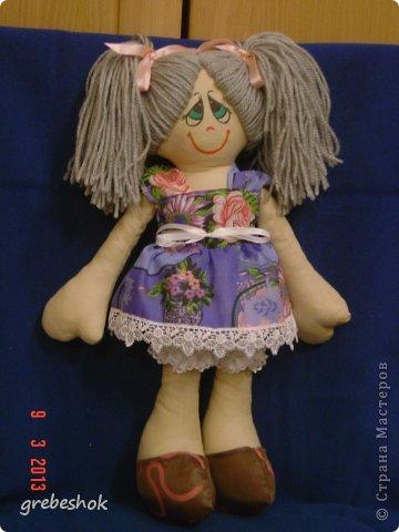 Приветствую Вас, рукодельники и рукодельницы! Давно собиралась попробовать сшить кукол-примитивов. Вот что получилось. фото 7