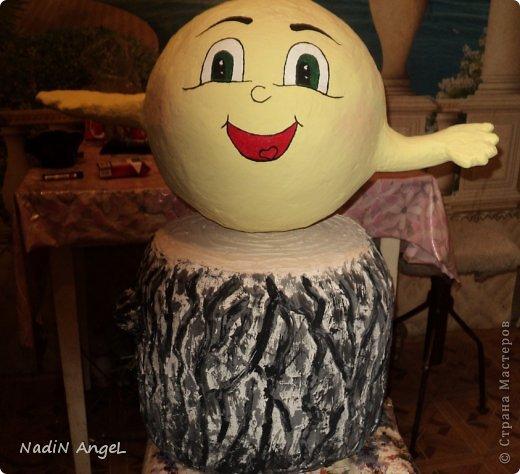 Скульптура Лепка Папье-маше Подготовка к дачному сезону   фото 1