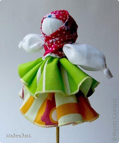 Приглашаю полюбоваться куклами которые у меня получились. Мне самой и удивительно и радостно. И они действительно волшебные. Может они не совсем по правилам, но хорошим настроением и и пожеланиями наполнены в полной мере. фото 8