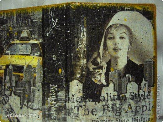 Комплект из обложки на паспорт и визитницы фото 2
