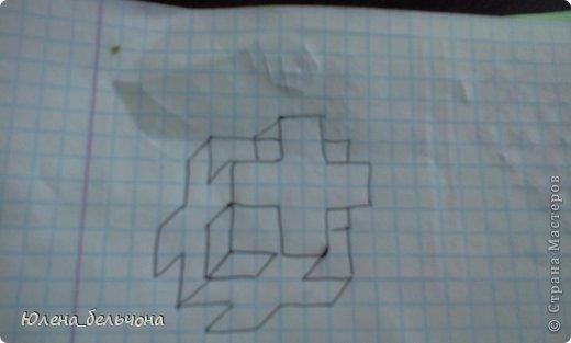 Научу я вас сегодня рисовать такие кубики-кресты. фото 7