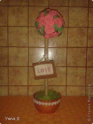Это подарок подруге. Деревце для привлечения любви! Надеюсь поможет) фото 1