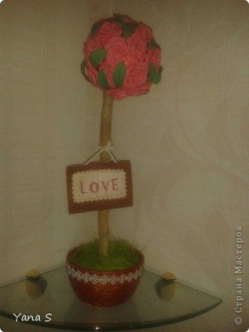 Это подарок подруге. Деревце для привлечения любви! Надеюсь поможет) фото 2