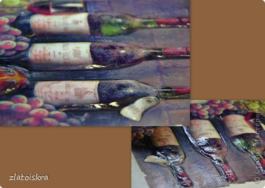 Картина панно рисунок Мастер-класс День рождения Декупаж МК панно Погребок  фото 13