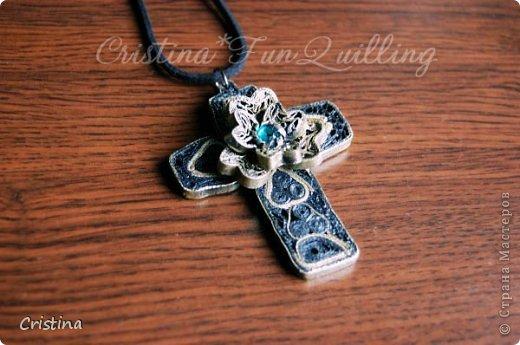 Paper Jewelry Cross фото 8