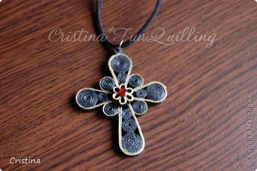 Paper Jewelry Cross фото 2