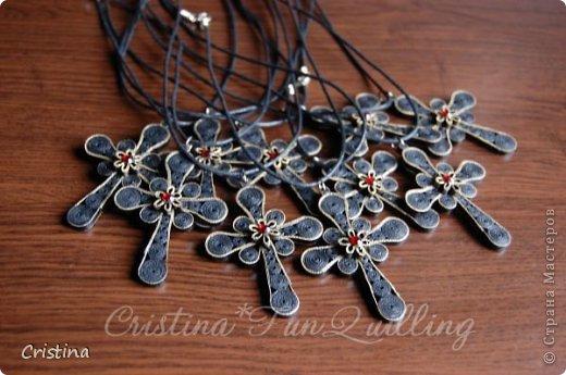 Paper Jewelry Cross фото 5
