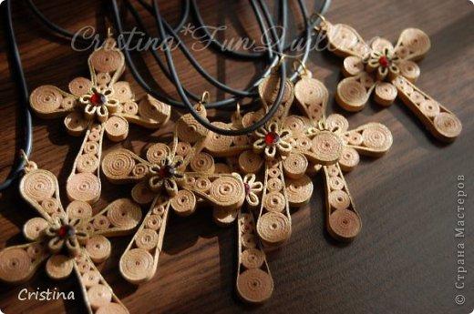 Paper Jewelry Cross фото 6
