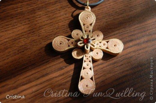 Paper Jewelry Cross фото 3