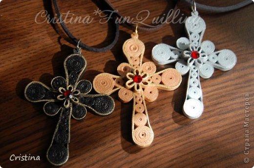 Paper Jewelry Cross фото 1