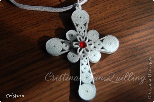Paper Jewelry Cross фото 4