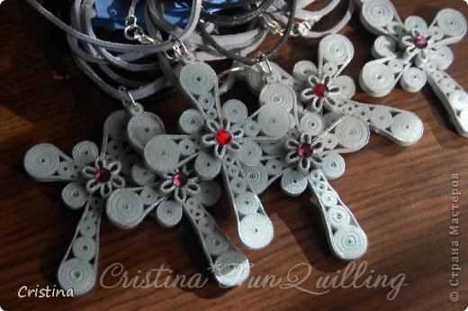 Paper Jewelry Cross фото 7