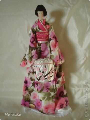 Тильда в японском стиле. Фея красоты Нори фото 1