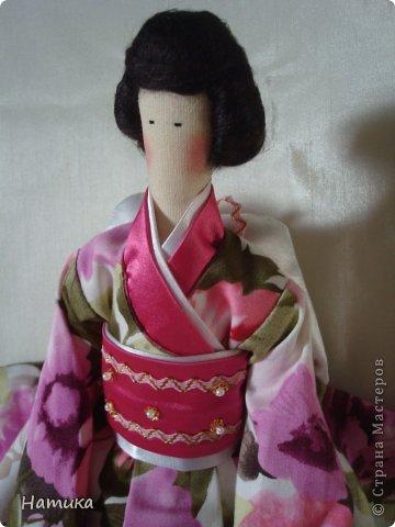 Тильда в японском стиле. Фея красоты Нори фото 2