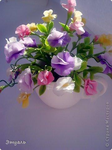 Первый раз делала эти цветы, получила море удовольствия!!! Желаю и вам приятного постмотра. Не стесняемся указывать на недостатки! фото 1