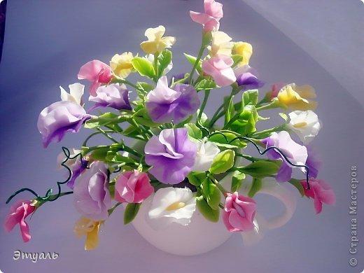 Первый раз делала эти цветы, получила море удовольствия!!! Желаю и вам приятного постмотра. Не стесняемся указывать на недостатки! фото 3