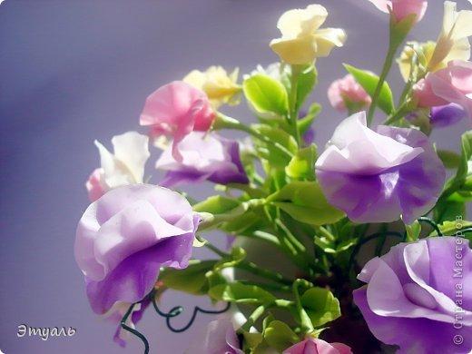 Первый раз делала эти цветы, получила море удовольствия!!! Желаю и вам приятного постмотра. Не стесняемся указывать на недостатки! фото 4