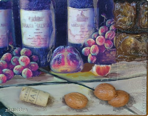 Картина панно рисунок Мастер-класс День рождения Декупаж МК панно Погребок  фото 4