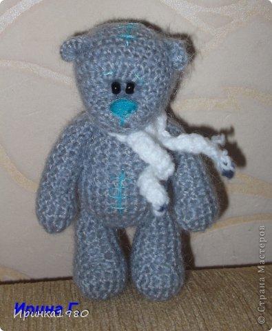 крючком Мишка-Тедди 11 см