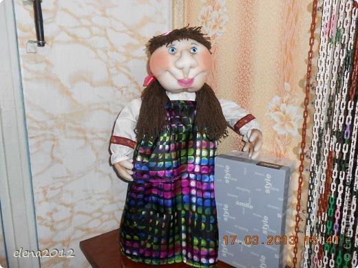 здравствуйте еще кукла она по едет в Москву рост 65 см фото 1