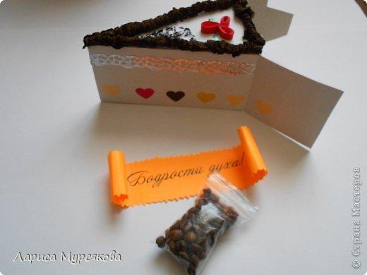 """Доброе время суток, жители любимой страны! Вот я с очередным творением. Сестру младшую на День рождения  захотелось удивить, и """"приготовила"""" тортик, для начинки использовав приятные мелочи. Сестра осталась довольна. Подобный тортик увидела давно, только все повода не было для воплощения. http://moerukodelie.blogspot.ru/2012/03/blog-post_26.html     http://www.artfrank.ru/recipes/323-отсюда скачала шаблон для распечатки кусочков. фото 9"""