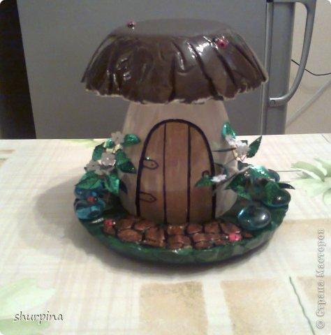 Сказочный гриб-домик фото 27