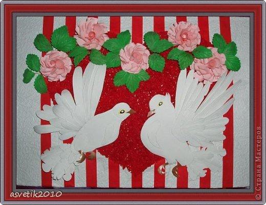 Открытки с голубями и цветами своими руками, днем варенья подруге