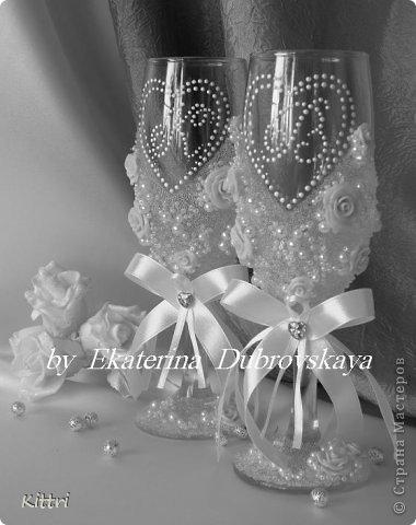 """Свадебный набор """"Ноктюрн"""" . Что-то я """"подсела"""" на шевелящиеся веточки, нравятся они мне очень.... фото 13"""