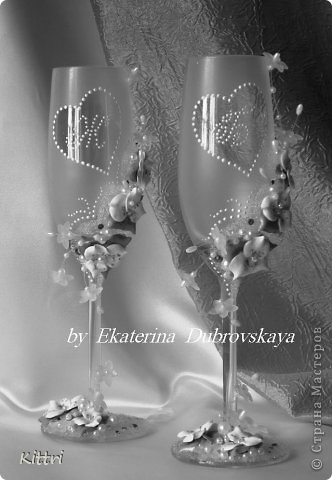"""Свадебный набор """"Ноктюрн"""" . Что-то я """"подсела"""" на шевелящиеся веточки, нравятся они мне очень.... фото 7"""