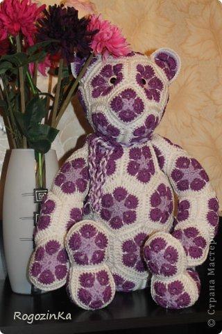 Вязание крючком Цветочный