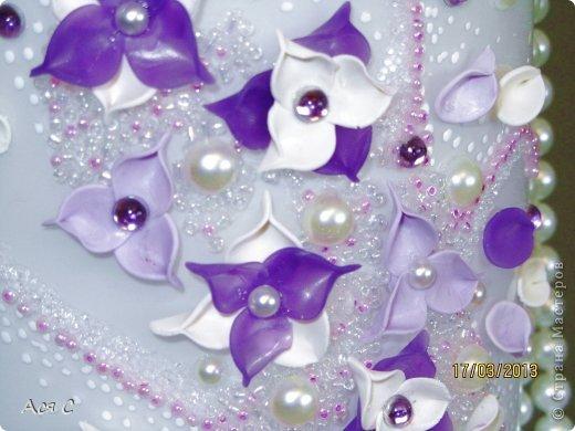 Декор предметов Лепка Реанимация старой вазы Бисер Бусинки Глина фото 4.