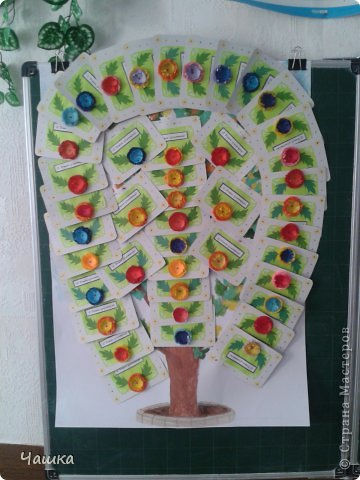 Дерево на день учителя