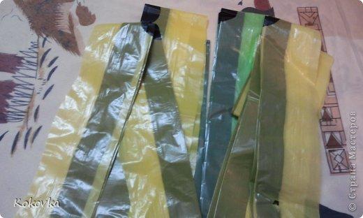 Мастер-класс Шитьё Как с пользой утилизировать полиэтилен или корзинки сшитые из пакетов Полиэтилен фото 2