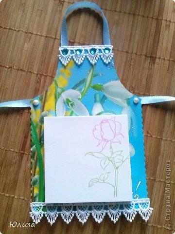 Всем здравствуйте). Решила поделиться своими подарочками на 8 марта.Блоки-фартуки на холодильник. Вдохновили работы Светланы https://stranamasterov.ru/node/328063?c=favorite Спасибо автору))) фото 6