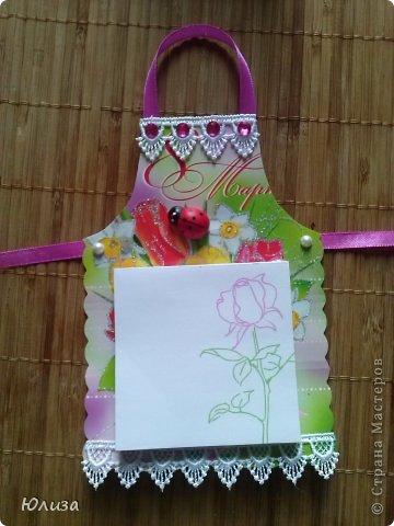 Всем здравствуйте). Решила поделиться своими подарочками на 8 марта.Блоки-фартуки на холодильник. Вдохновили работы Светланы https://stranamasterov.ru/node/328063?c=favorite Спасибо автору))) фото 7