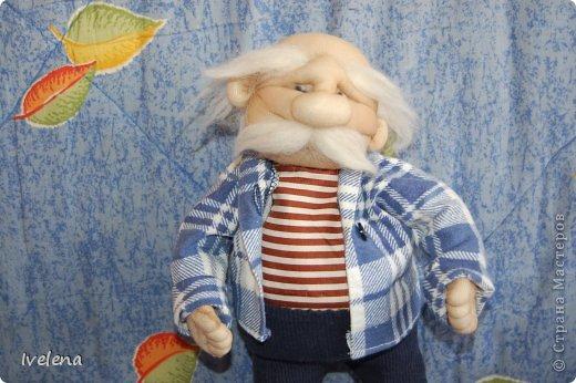 Добрый день! Вот такого старичка сделала в детсад, на конкурс кукол) вышел он милым и очаровательным добряком фото 1