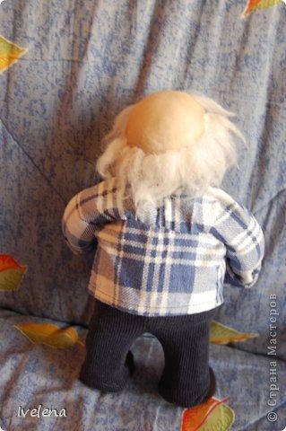 Добрый день! Вот такого старичка сделала в детсад, на конкурс кукол) вышел он милым и очаровательным добряком фото 2