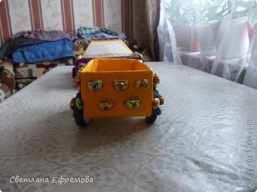 Племяннику на день рождения смастерила вот такую машину. фото 7