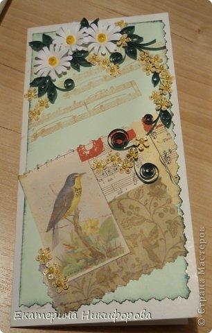 я сегодня к вам с открыткой и коробочкой фото 2