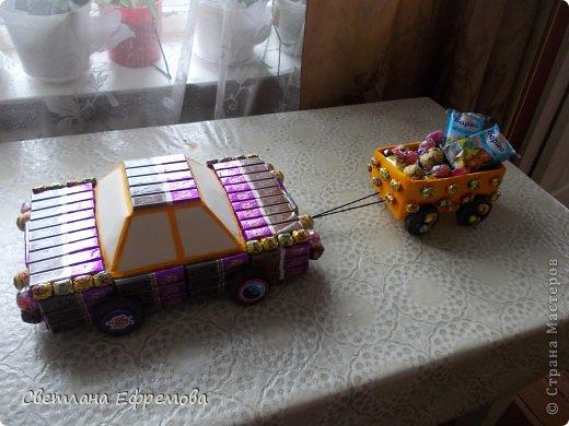 Племяннику на день рождения смастерила вот такую машину. фото 9