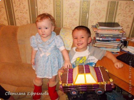 Племяннику на день рождения смастерила вот такую машину. фото 10