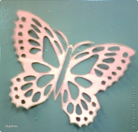 Поделка изделие Вырезание Бабочки + 1 кот Бумага фото 5