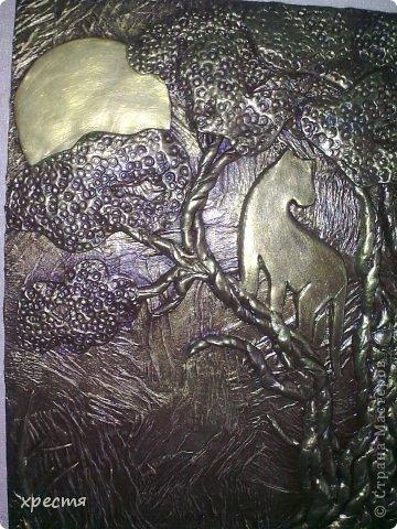 Доброго всем времени суток. Очередная ключница, работа выполнена из холодного фарфора. Спасибо за идею Olena777. Сам сюжет позаимствовала у неё. фото 2