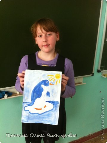 Пингвин (рисунок) фото 1